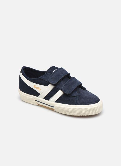 Sneaker Gola Super Quarter Velcro blau detaillierte ansicht/modell