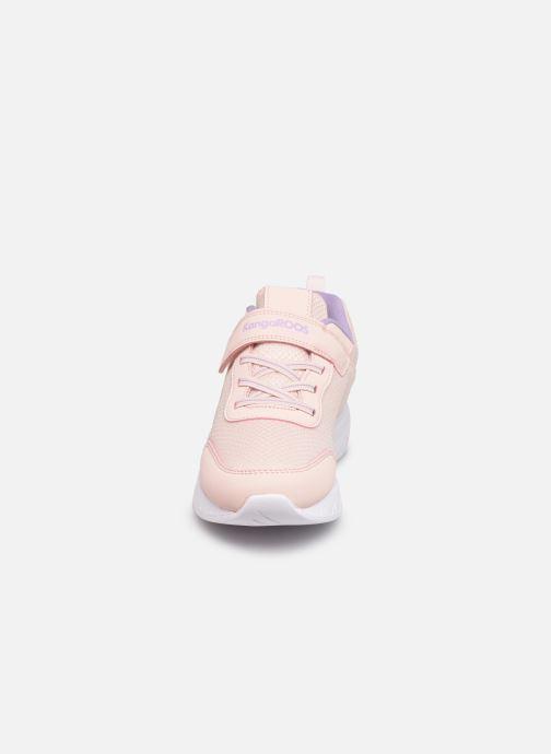 Sneaker Kangaroos K-Act Rik EV rosa schuhe getragen