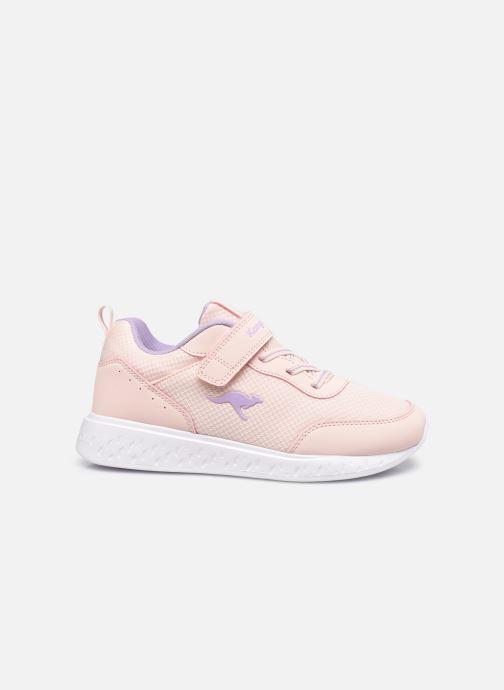 Sneaker Kangaroos K-Act Rik EV rosa ansicht von hinten
