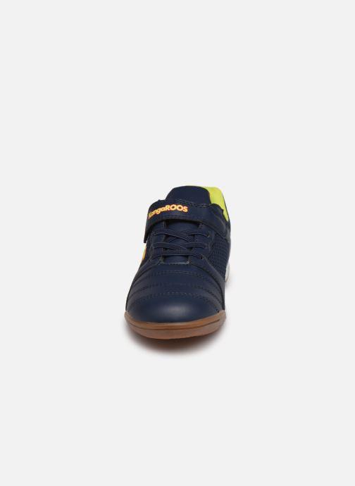 Chaussures de sport Kangaroos Miyard EV Bleu vue portées chaussures