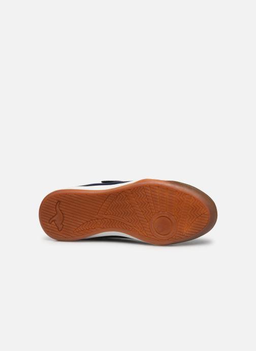 Chaussures de sport Kangaroos Miyard EV Bleu vue haut