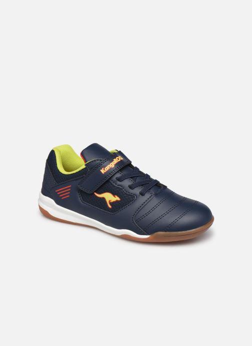 Chaussures de sport Kangaroos Miyard EV Bleu vue détail/paire