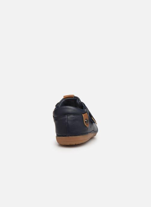 Sneakers Absorba Borso B Azzurro immagine destra