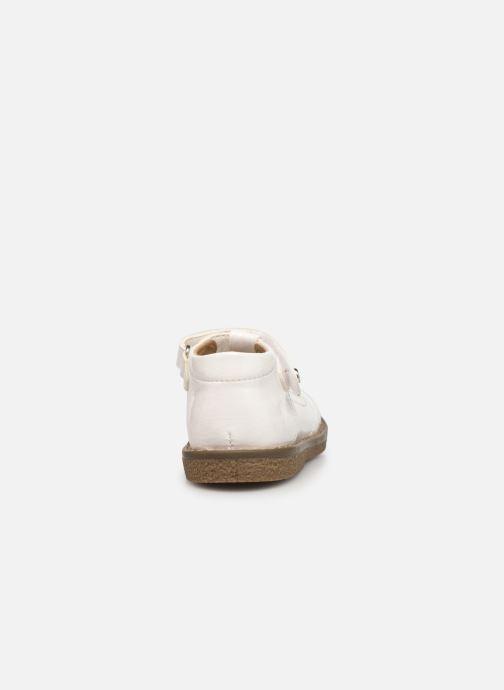Sandales et nu-pieds Absorba Dariata Blanc vue droite