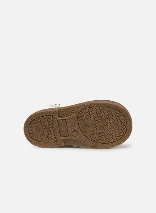 Sandales et nu-pieds Absorba Dariata Blanc vue haut