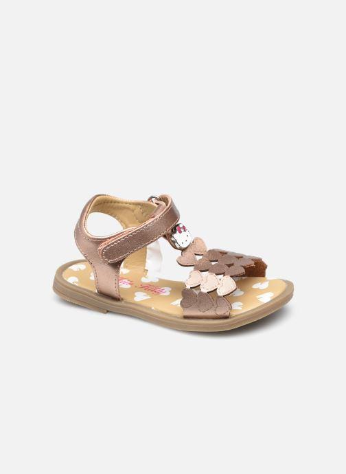 Sandalen Hello Kitty Uphara Goud en brons detail