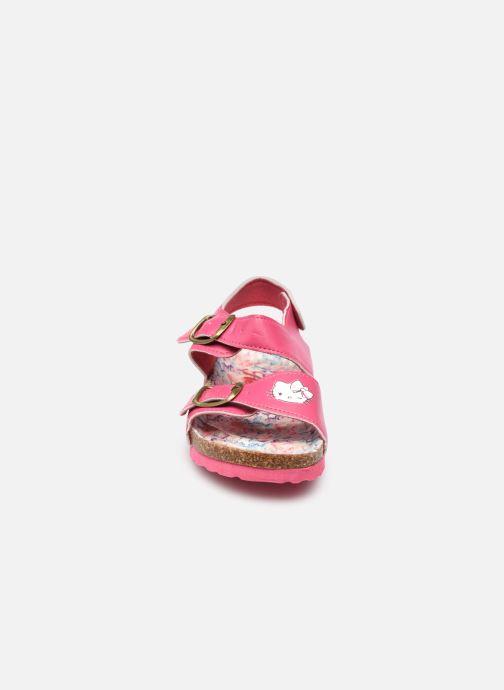 Sandalen Hello Kitty Ugenie rosa schuhe getragen