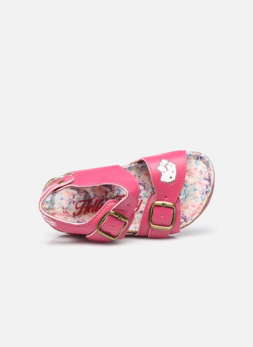 Sandalen Hello Kitty Ugenie rosa ansicht von links