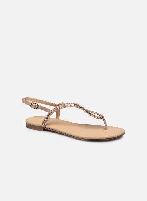 Sandales et nu-pieds San Marina GENINA Beige vue détail/paire