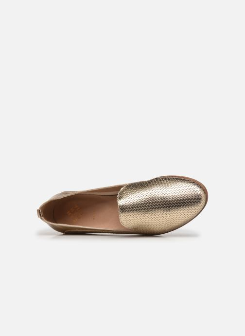 Slipper San Marina MARSINA/MET/IMP gold/bronze ansicht von links