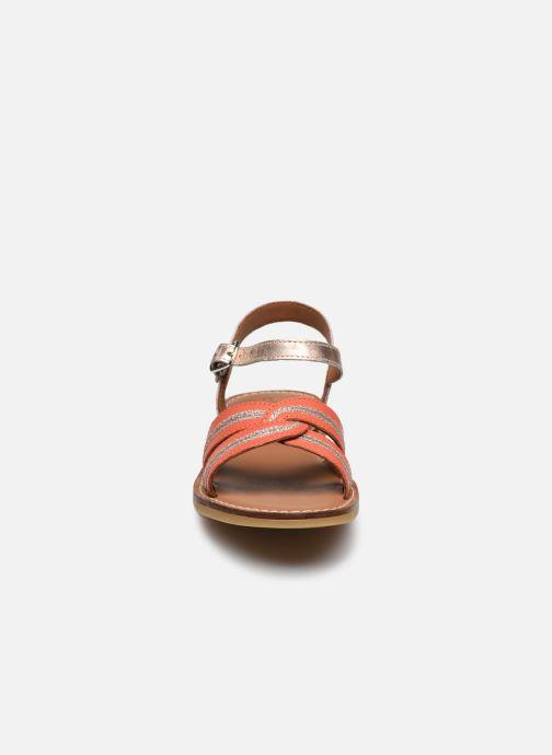 Sandali e scarpe aperte Adolie Lazar Sun Arancione modello indossato