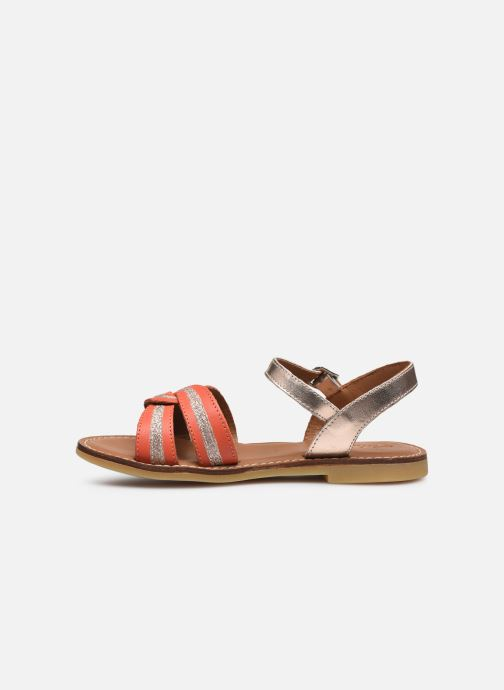 Sandali e scarpe aperte Adolie Lazar Sun Arancione immagine frontale