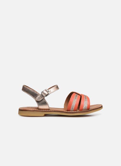 Sandali e scarpe aperte Adolie Lazar Sun Arancione immagine posteriore