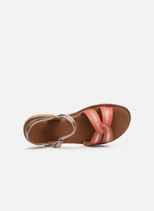 Sandali e scarpe aperte Adolie Lazar Sun Arancione immagine sinistra