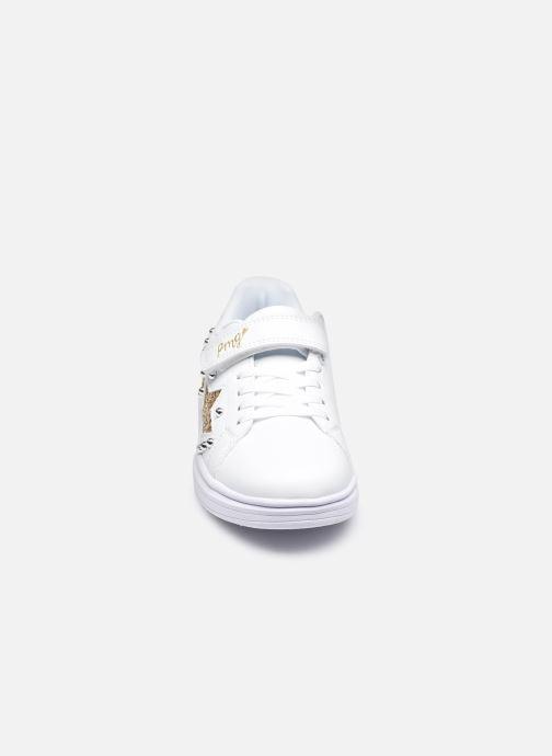 Sneakers Primigi Girl Tween 7457522 Bianco modello indossato