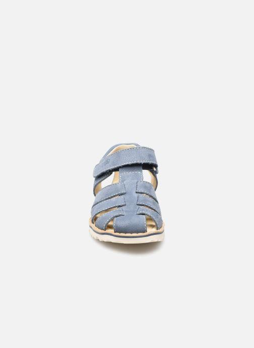 Sandali e scarpe aperte Primigi Free Sandalo 7435544 Azzurro modello indossato