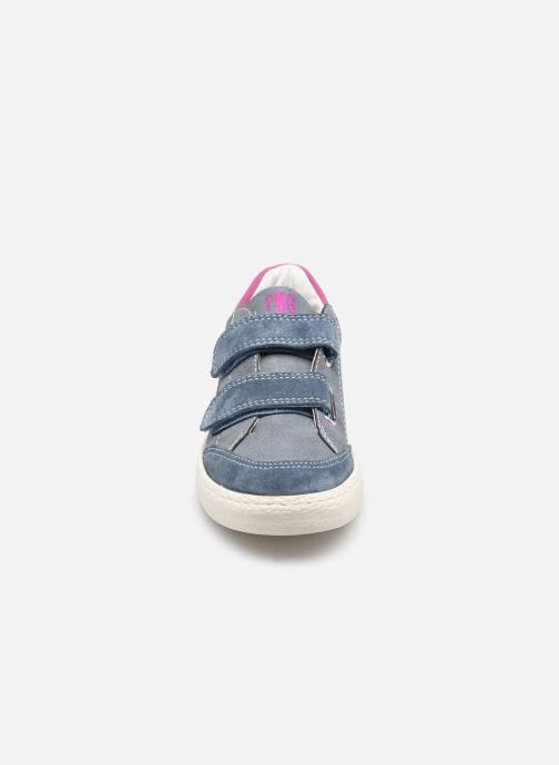 Sneaker Primigi B&G Universe 7421444 blau schuhe getragen