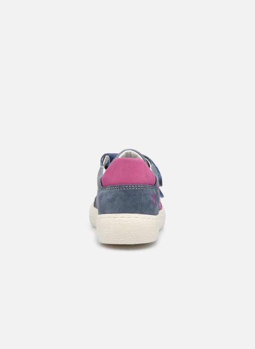 Sneaker Primigi B&G Universe 7421444 blau ansicht von rechts