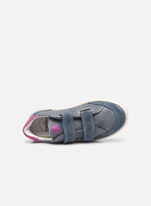 Sneaker Primigi B&G Universe 7421444 blau ansicht von links