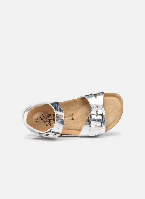 Sandali e scarpe aperte Primigi Birky 74291 Argento immagine sinistra