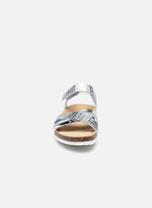 Sandali e scarpe aperte Primigi Birky Black Lab 7430000 Argento modello indossato