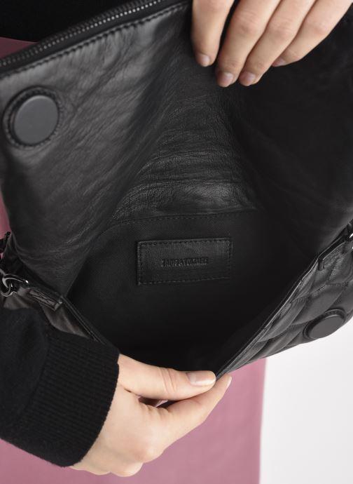 Sacs à main Zadig & Voltaire Rock XL Mat SCA Noir vue derrière
