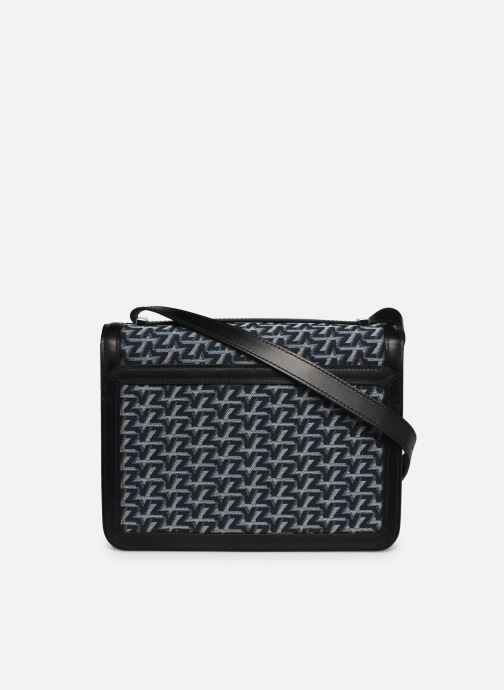 Handtaschen Zadig & Voltaire ZV Initiale Canvas schwarz ansicht von vorne