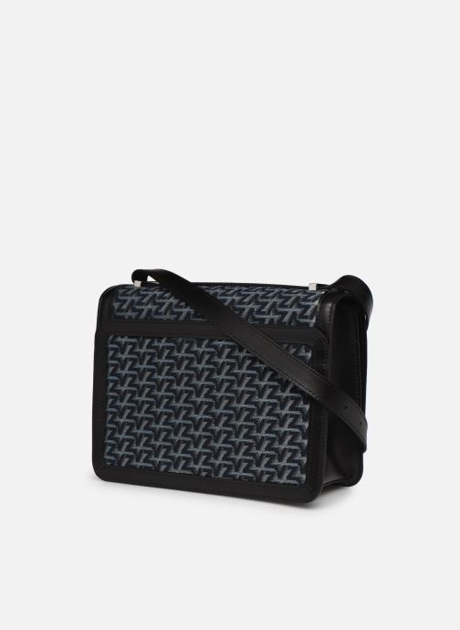 Handtaschen Zadig & Voltaire ZV Initiale Canvas schwarz ansicht von rechts