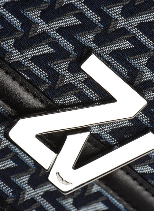 Handtaschen Zadig & Voltaire ZV Initiale Canvas schwarz ansicht von links