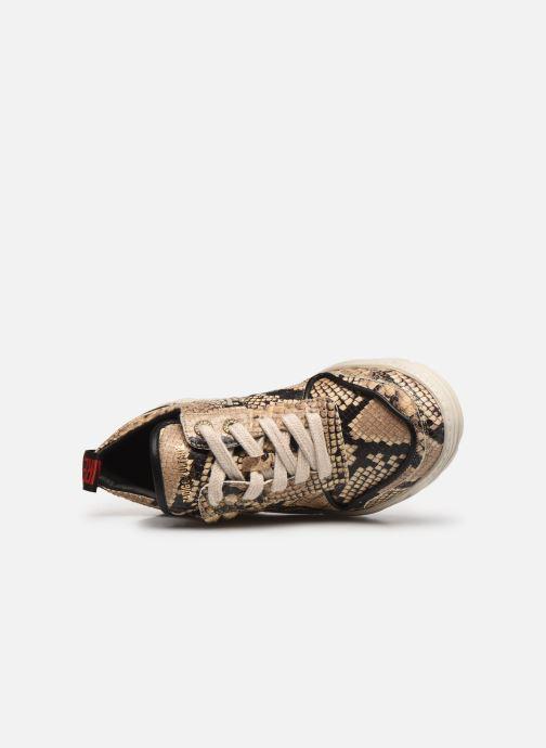Baskets Zadig & Voltaire Blaze Wild Beige vue gauche