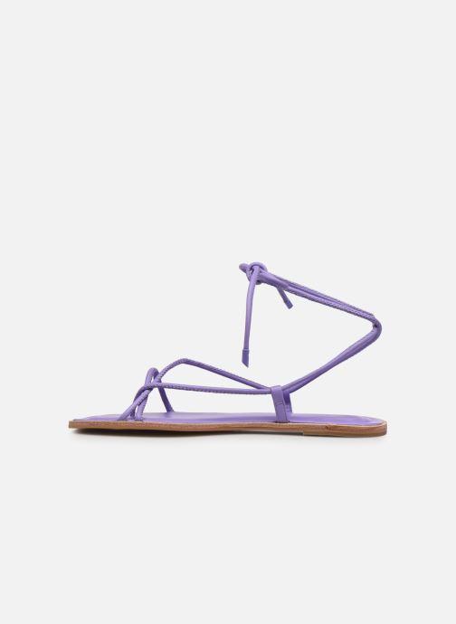 Sandali e scarpe aperte Aldo ADRAVIA Viola immagine frontale