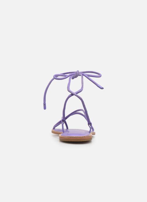 Sandali e scarpe aperte Aldo ADRAVIA Viola immagine destra