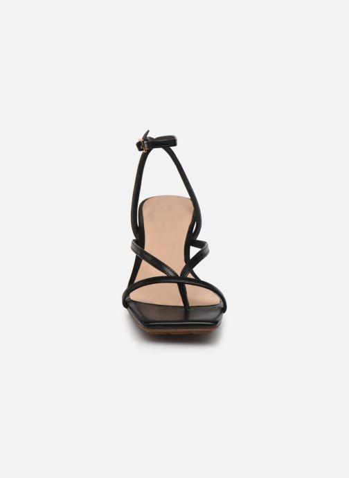 Sandales et nu-pieds Aldo KAVIEL Noir vue portées chaussures