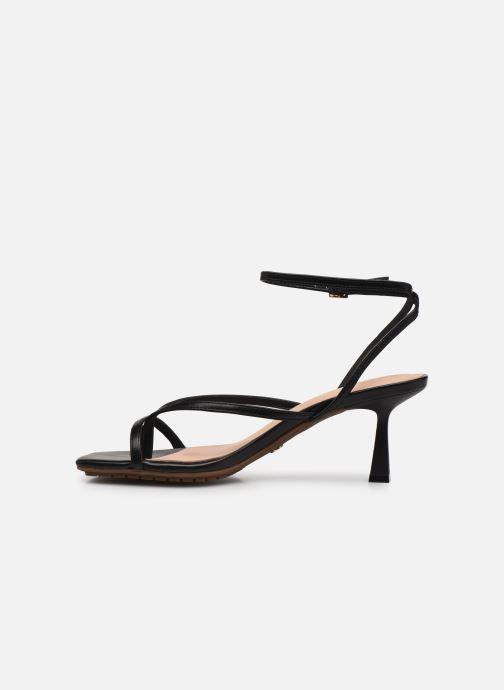 Sandales et nu-pieds Aldo KAVIEL Noir vue face