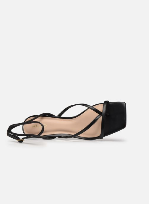 Sandales et nu-pieds Aldo KAVIEL Noir vue gauche