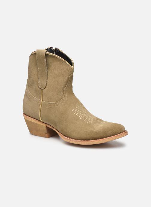 Bottines et boots Mexicana Bombita Beige vue détail/paire