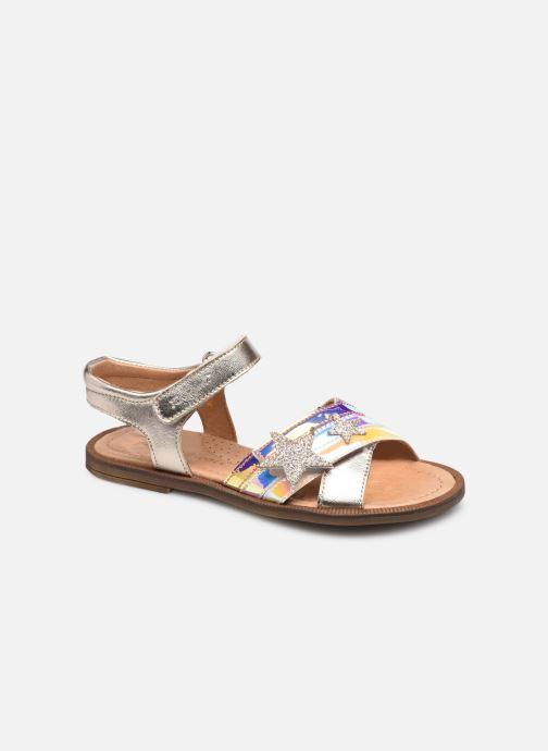 Sandaler Romagnoli 7786R Sølv detaljeret billede af skoene