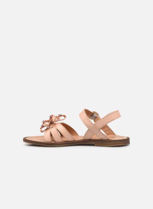 Sandalen Romagnoli 7789R rosa ansicht von vorne