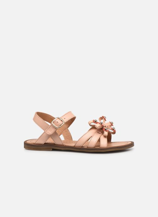 Sandalen Romagnoli 7789R rosa ansicht von hinten
