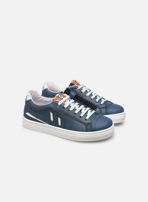Sneakers Romagnoli 7510R Blauw 3/4'