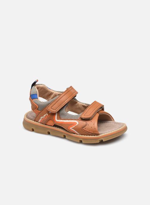 Sandalen Romagnoli 7624R braun detaillierte ansicht/modell