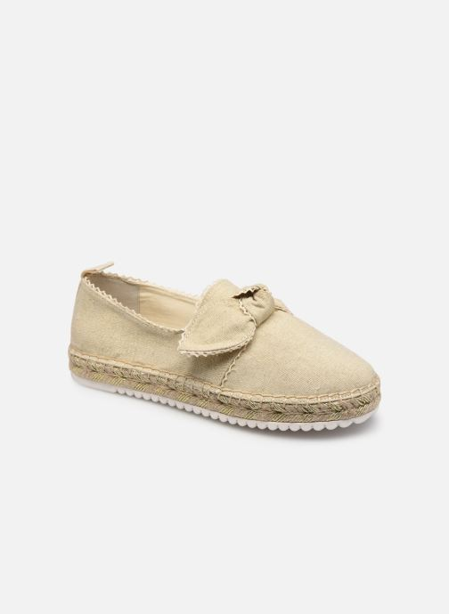Espadrilles - Cloe Bow W Metal Canvas