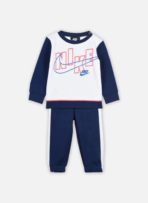 Kleding Nike Color Block Crew And Joggers 2-Piece Set Blauw detail