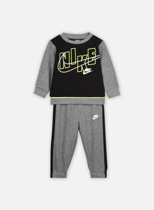 Vêtements Nike Color Block Crew And Joggers 2-Piece Set Gris vue détail/paire