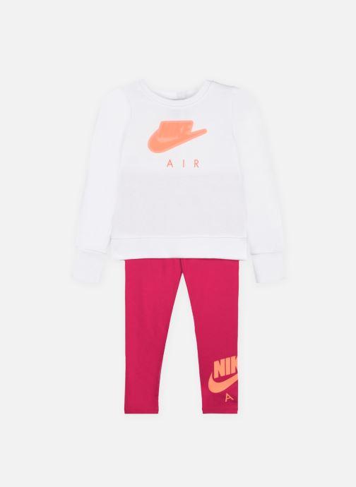 Vêtements Nike Air Sweatshirt And Leggings 2-Piece Set Rose vue détail/paire