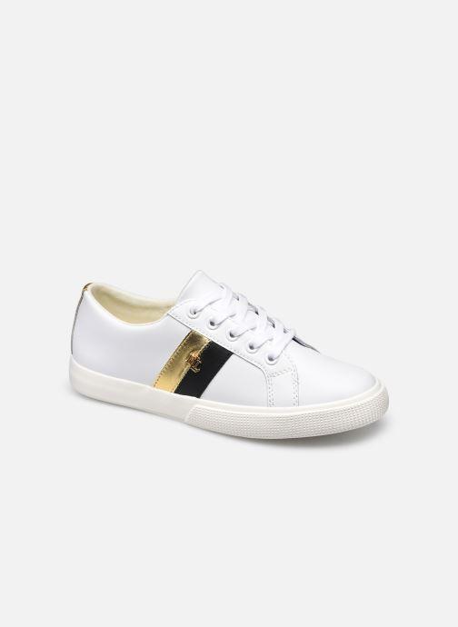 Sneaker Lauren Ralph Lauren JANSON II-SNEAKERS-VULC weiß detaillierte ansicht/modell