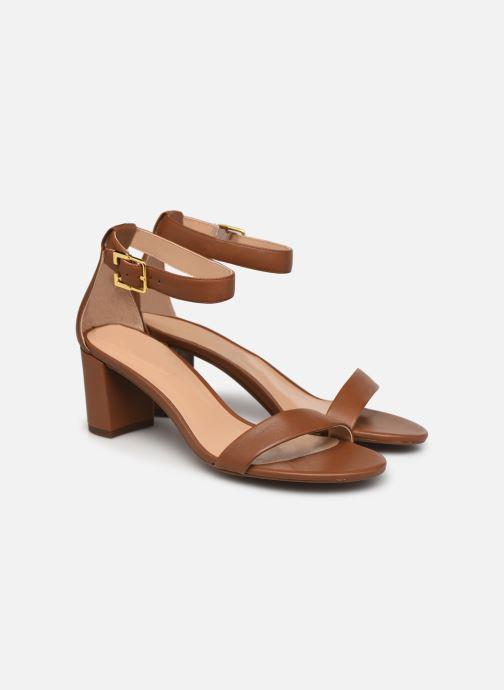 Sandali e scarpe aperte Lauren Ralph Lauren WAVERLI-SANDALS-CASUAL Marrone immagine 3/4