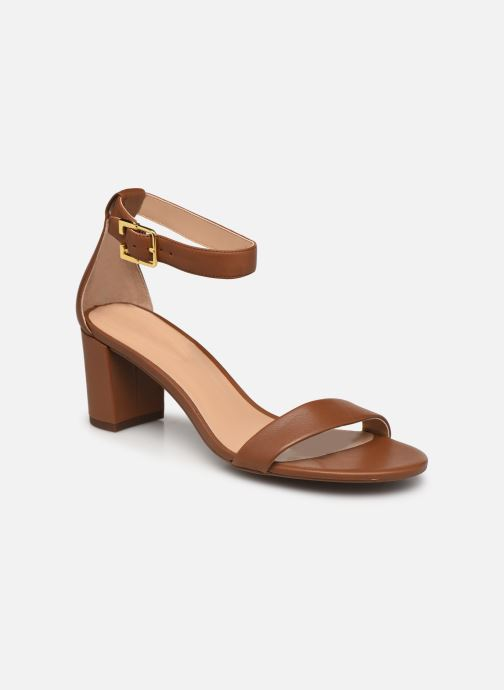 Sandali e scarpe aperte Lauren Ralph Lauren WAVERLI-SANDALS-CASUAL Marrone vedi dettaglio/paio