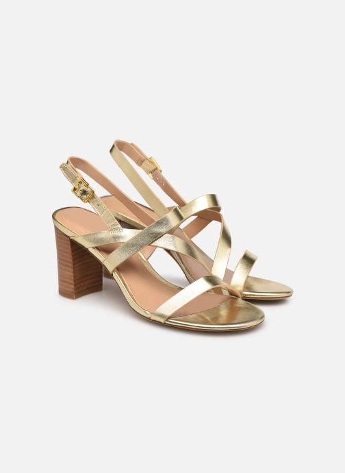 Sandali e scarpe aperte Lauren Ralph Lauren MACKENSIE-SANDALS-CASUAL Oro e bronzo immagine 3/4