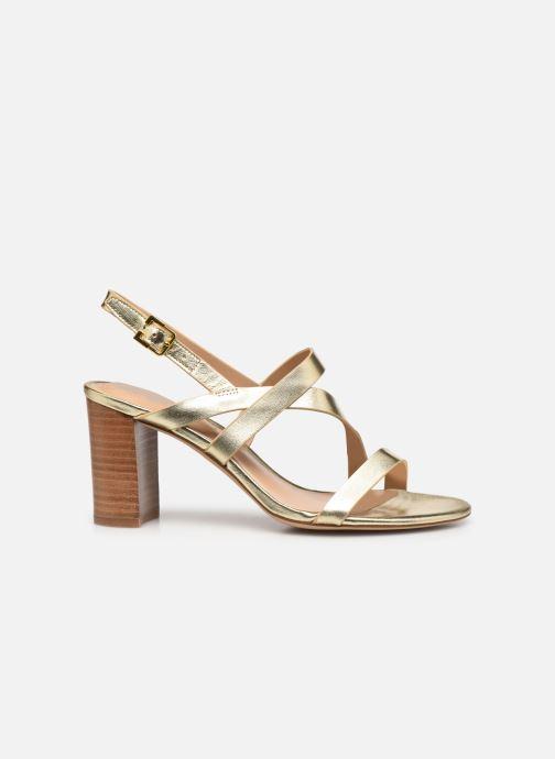 Sandali e scarpe aperte Lauren Ralph Lauren MACKENSIE-SANDALS-CASUAL Oro e bronzo immagine posteriore